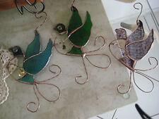 leadlight suncatcher - stained glass - dove -various colours