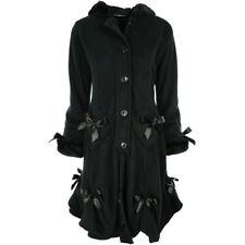 Poizen Industries Gothic Vintage Mantel Wintermantel - Alice Coat Schnürung