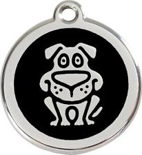 médaille acier inoxydable chien ou chat red dingo chien 3 tailles 11 couleurs