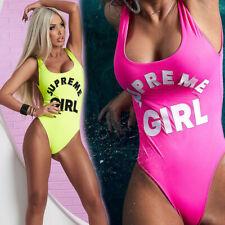 BY ALINA Badeanzug Swimsuit Tankini Monokini Bikini Damenbody Body 34-38 #CB25