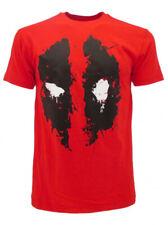 T-shirt Deadpool Originale Rossa Maglia Maglietta Marvel prodotto ufficiale