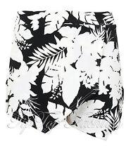 New Ladies Floral Skort Shorts Skirt Culottes Irregular Flanging Wrap Hot Pants
