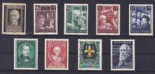 Österreich Jahrgang  1951 postfrisch** 9 Werte