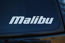 Malibu Boats Sticker Vinyl Decal Car Boat Exterior Choose Size & Color (V375)