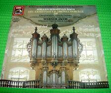 LP J.S. BACH  die Arnstädter Orgelchoräle 38  v. 1985