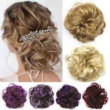 Women Hair Bun Curly Scrunchie Curly Messy Chignon Hair Pieces Hair Extension