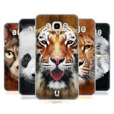 HEAD CASE DESIGNS ANIMAL FACES HARD BACK CASE FOR SAMSUNG PHONES 3