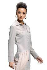 NWOT Alexander Wang Military Style Button Up Shirt Dress Beige Size 2 6