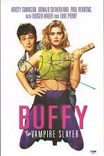 Kristy Swanson Signed Buffy The Vampire Slayer Poster PSA/DNA COA Autograph Auto