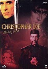 COFANETTO CHRISTOPHER LEE - MISTERY PACK - 4 DVD  (NUOVO SIGILLATO)