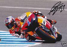 CASEY STONER HONDO REPSOL  SIGNED 6x4 PHOTO PRINT AUTOGRAPH MOTO GP