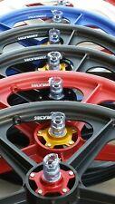 "Old School BMX 20"" skyway wheels coloured flanges wheels Tuffs EXCLUSIVE"
