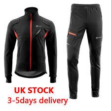 56bf2c456 RockBros Men s Cycling Jacket   Pants Set Winter Fleece Warm Windproof ...