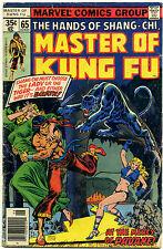 Master of Kung Fu, No. 65; June 1978