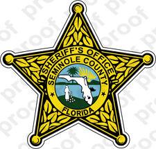 STICKER SHERIFF SEMINOLE COUNTY