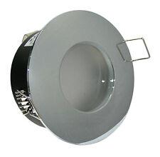 230Volt Decken Strahler Einbaustrahler Aluminium IP65 Aqua K92146 Innen & Außen