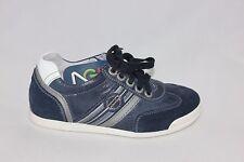 Scarpa sneakers bimbo pelle blu grigio P233311 NERO GIARDINI 33 saldi be5c4fd02f9