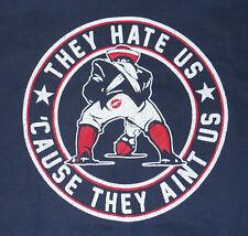brand new AFC champion New England Patriots they hate us tee shirt Tom Brady