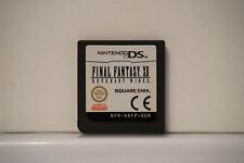 Final Fantasy XII Revenant Wings 12 Game Nintendo DS DS Lite DSi 3DS original