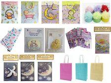 nouveau né bébé cadeau NEUF Sacs/CARTES/ Emballage / Idées /éponge/confettis
