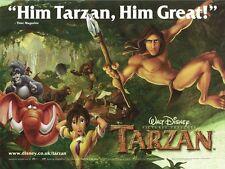 Tarzan movie poster : Walt Disney : Edgar Rice Burroughs - 12 x 16 inches