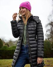 Joules Canterbury Long Padded Coat - TRUE BLACK