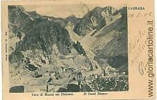 CARTOLINA d'Epoca: MASSA CARRARA: IL CANAL BIANCO