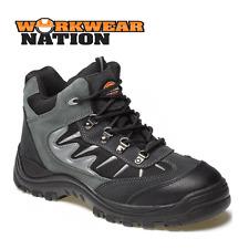 Hombre Dickies Trabajo Ropa De Storm Seguridad Hiker Zapatillas número 3-14 Gris