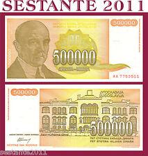 YUGOSLAVIA  500.000 500000 DINARA 1994 PREFIX AA,    P  143,    FDS / UNC