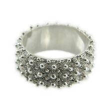 Fede sarda anello Sardegna filigrana fascia 3 file giri argento rodiato 925
