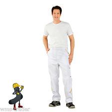 Pantaloni pittore bianco/ giallo Highline Planam Imbianchino da lavoro Nuovo