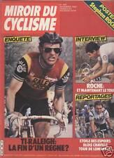 MIROIR DU CYCLISME 1981 N 309 ENQUÊTES ET REPORTAGES