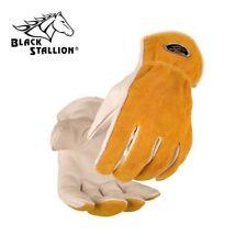 Black Stallion Value Grain/Split Cowhide Kevlar® Stitched Driver's Gloves 97K
