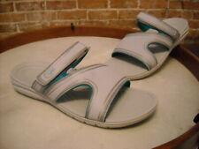 Ryka Grey Shuffle Comfort Sport Slide Sandal NEW