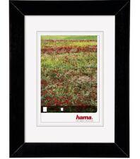 Hama Holz-Rahmen Foggia Schwarz Bilder-Rahmen Poster-Rahmen Fotos Portrait Wand