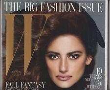 W Magazine September 2012 FASHION ISSUE Penelope Cruz CHANEL Karl Lagerfeld