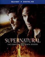 SUPERNATURAL SEASON 10 (Blu-ray Disc, 2015, 4-Disc, Digital Copy) NEW