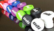 ODI Bar End Grips Bouchons (Neuf) Vélo De Montagne BMX (7 couleurs) voyou Prises (paire)