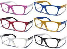 SMALL KIDS SIZE RETRO FRAME CLEAR LENS GLASSES NERD Classic Design Boys Girls