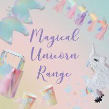 Unicorn Party Supplies Plates Cups Confetti Pinata Tattoos Decorations