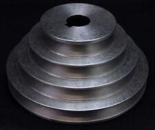 """PULEGGIA in alluminio 4 Step V PULEGGIA A GRADINI una scanalatura 3""""/4""""/5""""/6"""" VEE PULEGGIA"""