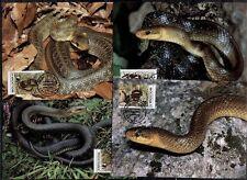 WWF Schlangen. 4 Maximumkarten. Moldawien 1993