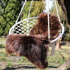 peau de mouton Grizzly FOURRURE NATURELLE Tapis d'entrée Couvre-siège décoratif