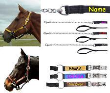 Führkette oder Halfter( Pony, VB/COB,WB/FUL) oder Strick mit Namen