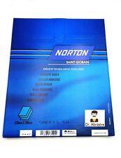 Bagnato E Asciutto Carta Vetrata Norton BLACK ICE Grit 240-2000 impermeabile di alta qualità