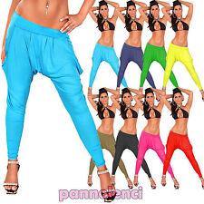 Leggings pantaloni fitness pants turca jersey donna sarouel harem sport LE578