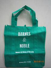 Barnes & Noble Green Cloth Reusable Shopping Bag 1pcs