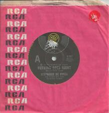 "STEPHANIE DE SYKES - NOTHING GOES RIGHT - RARE 7"" 45 VINYL RECORD - 1978"