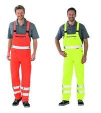 Planam Warnschutz Pantalons Salopette de Travail Carrière pour Hommes