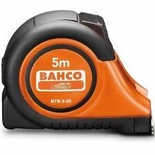 Bahco AUTOLOCK TAPE MEASURE Metric Class-II, Integrated Belt Clip- 5m Or 8m